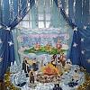 Оформление  холла по сказке 12 месяцев и Снежная королева . Детский сад №1