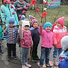 Парад дошкольных войск, посвященный празднику 9 Мая. Детский сад №1