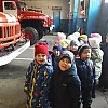 Экскурсия старшей группы в пожарную часть. Детский сад № 2