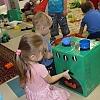 Печка из коробки. Детский сад №1