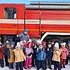 Учения по пожарной безопасности. Детский сад №53