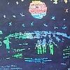 Выставка детского рисунка «Этот загадочный космос». Детский сад №53