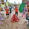 Занятие по пожарной безопасности в Детском саду № 1