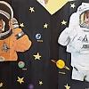 Поздравление с Днём космонавтики. Детский сад №2