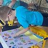 Рыбки в аквариуме. Детский сад №1