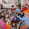 Встреча с настоящим клоуном Тимошей. Детский сад №1
