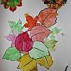 Коллективная работа «Осеннее дерево» Детский сад №1
