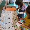 Творческая работа детей по изготовлению афиши   «В гостях у Царицы Осени» Детский сад №4