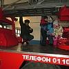 Экскурсия старших дошкольников в часть пожарной охраны. Детский сад №1