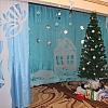 Новогоднее оформление музыкального зала. Детский сад №53