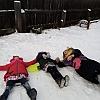 Физкультурный досуг «Зимние забавы» Детский сад №12