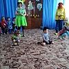 «Клоуны Ириска и Клепа в гостях у детей в День смеха» Детский сад №4