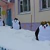 Пингвины на льдине. Детский сад №1