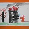 «Пожарная безопасность в рисунках детей» Детский сад №4
