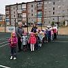 Спортивная площадка любимое место игр детей. Детский сад №48