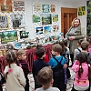 «Смешарики» посетили выставку посвященную  65 летию Чунского района. Детский сад №1
