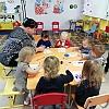 Рисование в группе раннего возраста 2 «Новогодние шары» Детский сад №1