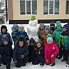 Первый снег. Детский сад №44 р.п. Чунский